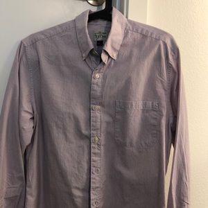 J. Crew men's shirt in stripe